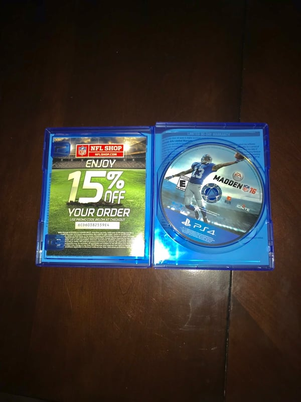 Madden PS4 Bundle (16,17, and 18) 1a71311b-94c6-4e11-83d0-3436e7e196e8