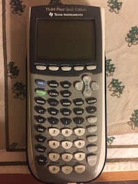 TI 84 Plus Silver Edition graphing calculator Leesburg, 20175