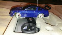 blue rc car with remote Kansas City, 66117