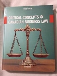 Critical concepts of Canadian business law. Toronto, M9A 2V6