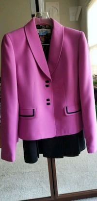 pink notch lapel suit jacket Springfield, 22153
