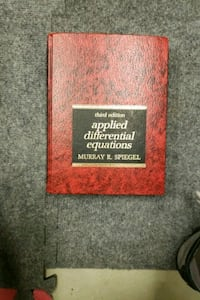 Applied differential equations.  Spiguel Milton, M5X 1J4