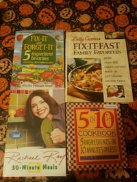 Bundle of Cooking Books Mount Olive Township, 07828