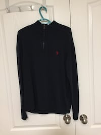 black Ralph Lauren zip-up hoodie Brant, N0E 1A0
