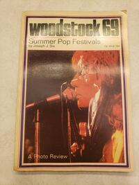 Woodstock 69 book of photos