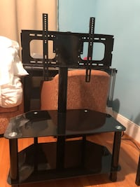 black and gray TV stand 357 km