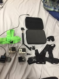 GoPro 3+ silver and GoPro 4 black Anchorage, 99504