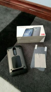 gray Asus Zenfone 2 smartphone box and case Mississauga, L5B 2Y6