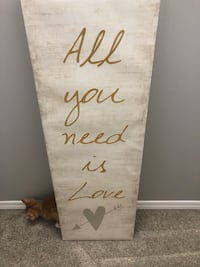 All You Need Is Love - Wall Picture, Canvas  Edmonton, T6X