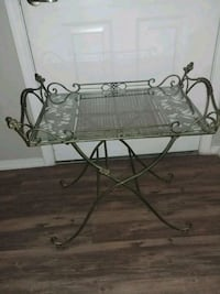 Wrought iron tray table with beautiful design Chandler, 85224
