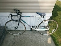 black and white road bike Sterling Heights