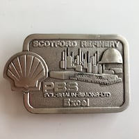Rare Shell Scotsfold Refinery/PBS Excel Belt Buckle Calgary, T2R 0S8