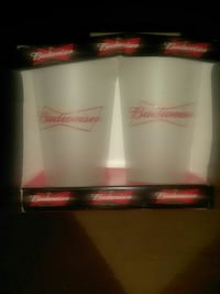 Budweiser frosted glasses Cheyenne