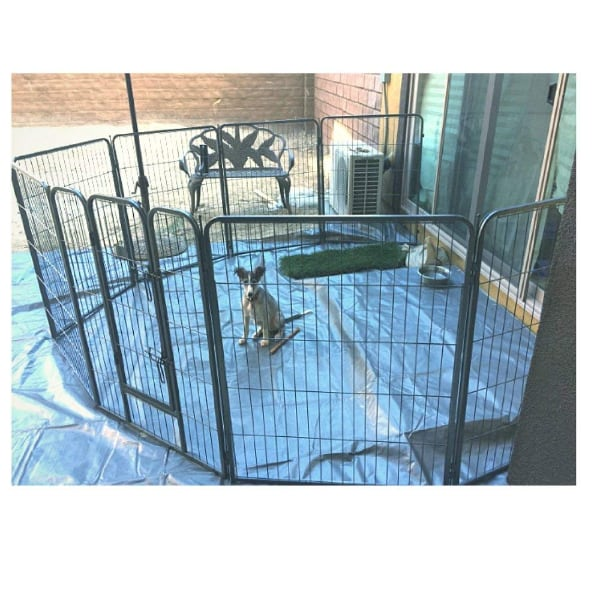 NEW!! Dog Fence - Heavy duty Panels - Indoor and Outdoors. 390b5d67-b549-4550-9a92-5491ecb5ed5d