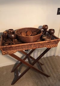 Wicker and Wooden Serving Items Port St. Lucie, 34983