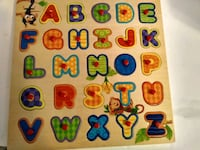 Kids alphabet board like new Cooper City