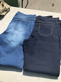 2 pair of jeans size 17 new  Alsip, 60803