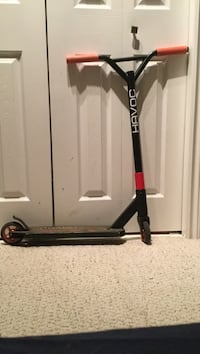 Black and red havoc kick scooter Sherwood Park, T8A 4G3
