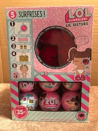 New! LOL surprise lil sister dolls—eye spy edition. $5.00 each ball. There are 15 total in this box. Buy them all for $65!! Houma, 70360