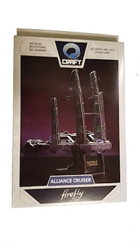 Brand New Unopened Firefly Alliance Cruiser 3D Puzzle Oldsmar