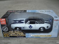 HOCKEY'S BACK NOW LET'S SUPPORT THOSE LEAFS '67 CAMARO TORONTO MAPLE LEAFS DIE CAST CAR BRAND NEW NEVER OPENED! Mississauga