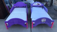 Toddler's purple and pink bed frame Cathedral City, 92234