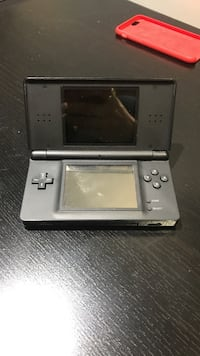 gray and black Nintendo DS comes with charger and Pokémon platinum  Edmonton, T6R 1T8
