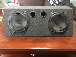 Dual 8inch subwoofer