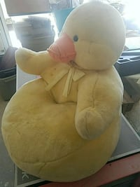 yellow duck fabric chair Moore