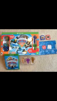 X-Box One Skylander lot $28  Trap Team starter pack includes game plus 3 additional traps. Herndon, 20170