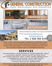 Construction services Toronto