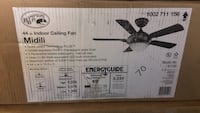 black and gray metal stand fan box Jan Phyl Village, 33880