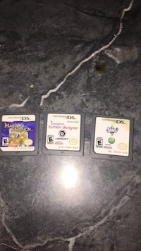3 nintendo ds games Harwood Heights, 60706