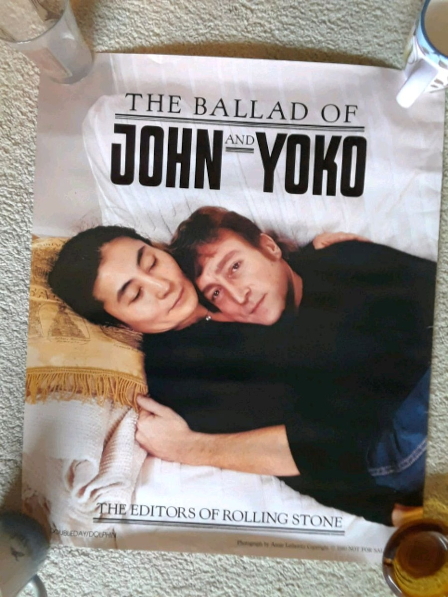 The Ballad of John and Yoko poster for sale  Upland