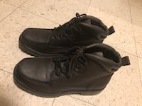 Pair of black leather boots size 9 Winnipeg, R2L 1P8