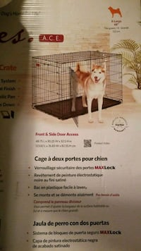XL Dog Crate 535 km