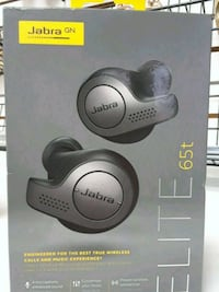 black Jabra GN Elite 65t wireless ear buds  box Abbotsford, V2T