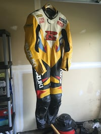 black, white, and yellow racing jacket Fredericksburg, 22407