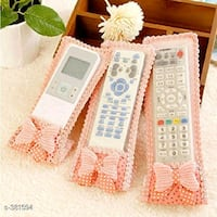 white and pink cutest remote cover ever brand new Bengaluru, 560045