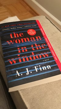 The Woman In The Window Paperback Gaithersburg, 20877
