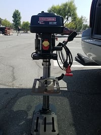 "Craftsman 10"" Drill Press with Laser Trac Moreno Valley, 92551"