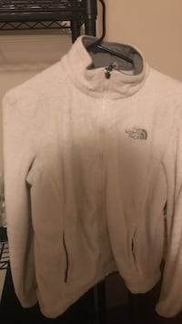 White the north face zip jacket Dover, 19904