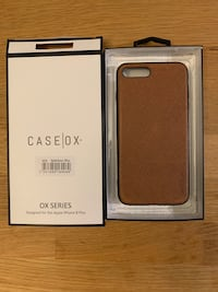 iPhone 7/8 plus leather case Vancouver