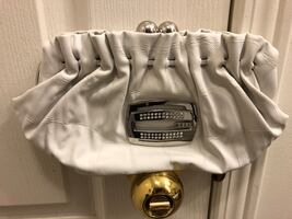 Guess Clutch, White, $50