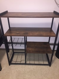 Kitchen shelves available for curbside pick-up