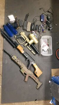 Airsoft and Paintball Lot Minneapolis, 55417