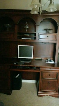 Solid wood desk West Springfield, 22152