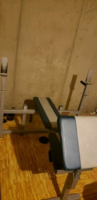 OBO Incline/flat/curls/ dip all in one bench Quantico, 22134