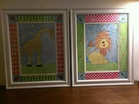Colorful Giraffe and Lion pictures Renton, 98058