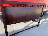 Black and red wooden bench Raleigh, 27604